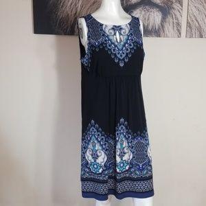 3/$24💟APT 9 Sleeveless Babydoll Midi Dress